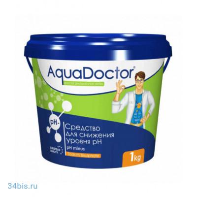Aquadoctor PH-минус гранулы 1 кг в купить в интернет магазине