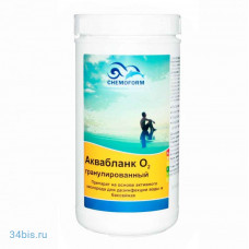 Активный кислород Chemoform Аквабланк гранулированный, 1 кг