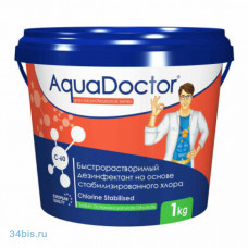 Aquadoctor хлор-шок C-60 1 кг в гранулах