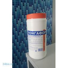 "Таблетированный препарат""Лонгафор"" на основе хлора органический хлор - 90% табл. 200 гр, банка 1 кг"