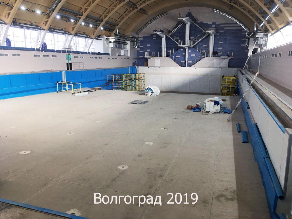 Реконструкция прыжкового бассейна «Спартак»